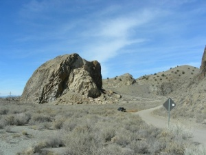The Devil's Throne in the Cerrillos Hills.