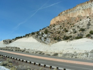 On the drive to Bandelier National Monument