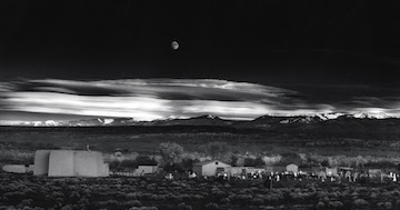 ansel-adams-landscape-photography-moonrise-over-hernandez-new-mexico-1941